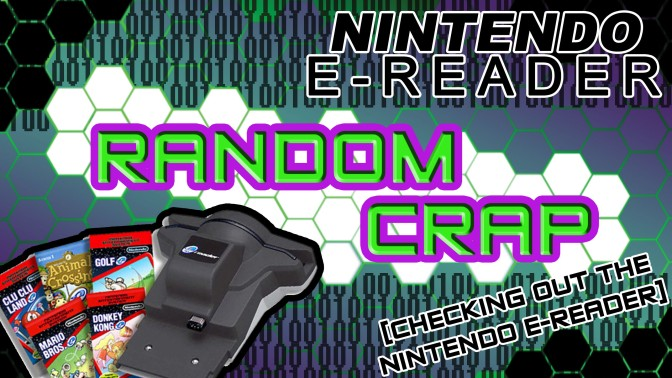 Random Crap: Checking Out The Nintendo E-Reader