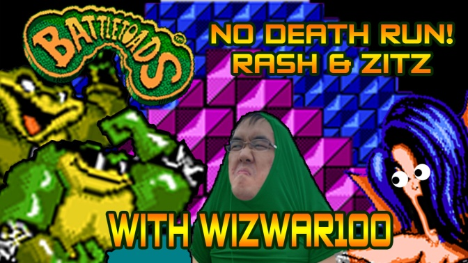 Battletoads (NES) No Death Run (Rash & Zitz)