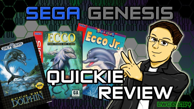 Ecco the Dolphin, The Tides of Time, Ecco Jr – Sega Genesis Quickie