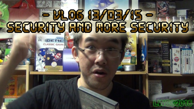 Vlog 13/03/15 – Security and More Security