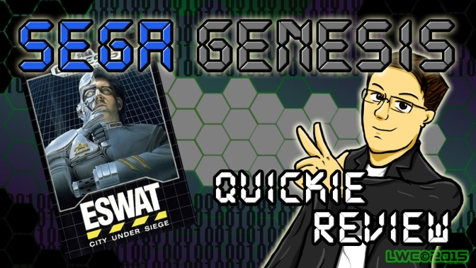 ESwat City Under Siege – Sega Genesis Quickie