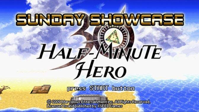 "Half Minute Hero[PC] – Sunday Showcase ""Just give me 12 minutes"""