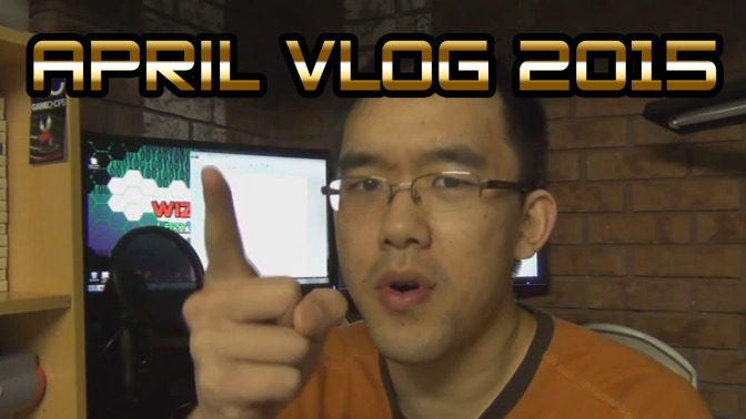 """Apr Vlog 2015 – """"May the April be gone with you"""""""