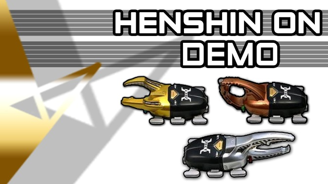 Henshin On Demo – Kabutick Device [1080HD]