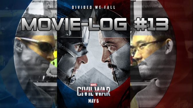 Movie-Log # 13 – Captain America Civil War[1080HD]