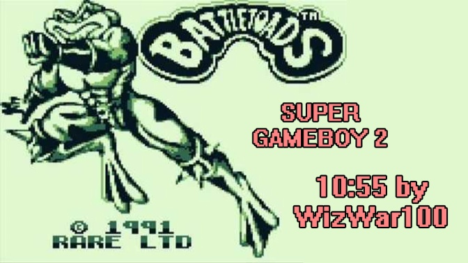 Battletoads GB SGB2 10:55 [World Record]