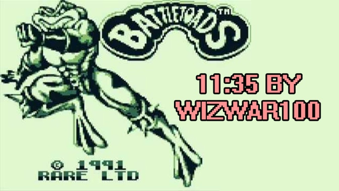 Battletoads GameBoy 11:35 [World Record] June 5, 2017